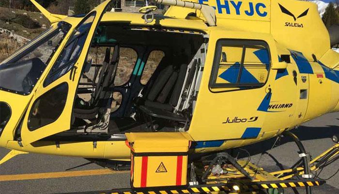 Servicio Aéreo de Rescate es el servicio encargado de la Búsqueda y Salvamento Aéreo
